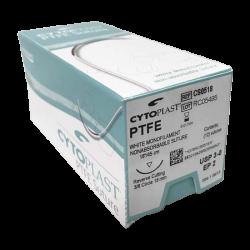 Cytoplast PTFE Suture CS0518, USP 3-0