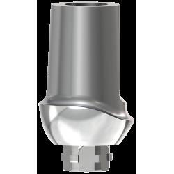 Prepable Ti Abutment 1.5 mm 0° - Wide Incisor