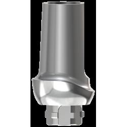 Prepable Ti Abutment 1 mm 0° - Narrow Incisor