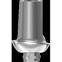 Prepable Ti Abutment 1,5mm 0° - Pre-molar