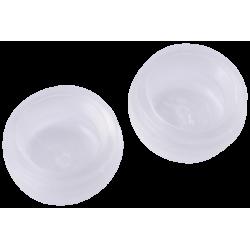 Neoss Equator Cap Standard Retention, White - 2pcs